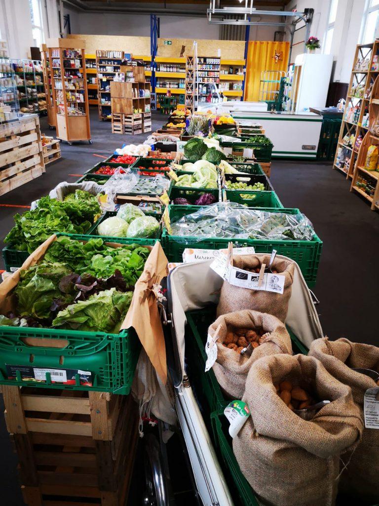 Ausgewogen.Bio Gemüse-Auswahl
